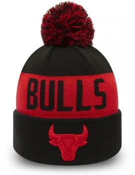 Bonnet junior bulls noir et rouge 12061623