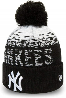 Bonnet junior yankees 12061637 noir et blanc