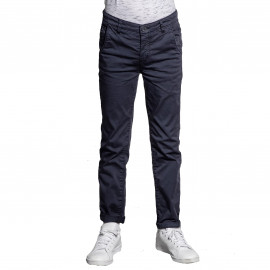 Pantalon chino Deeluxe junior LAWSON BLEU
