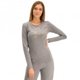 Tee-shirt femme ARMANI 163229 9A232 gris