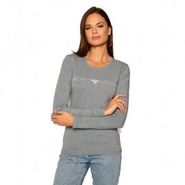 Tee-shirt femme EMPORIO ARMANI 163229 9A317 06749 gris
