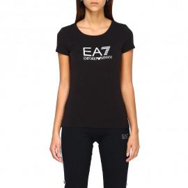 Tee-shirt femme ARMANI 8NTT63 noir