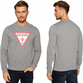 SWEAT H MOBQ37 GRIS