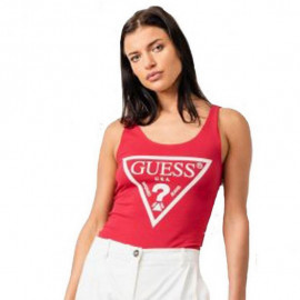 Boby femme GUESS 092M06 rouge