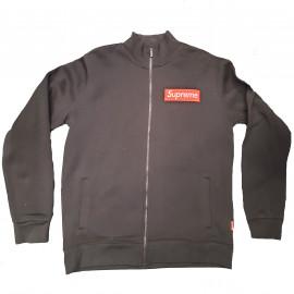 Sweat zippé noir 10103