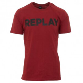 Tee-shirt REPLAY homme M3594 2660.352 bordeaux