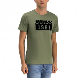 Tee-shirt homme M94I48 kaki