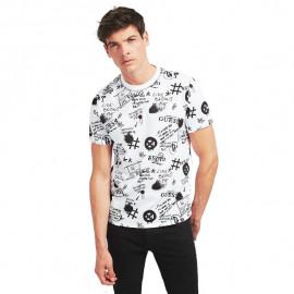 Tee-shirt homme MOB19213 blanc