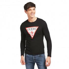 Tee-shirt homme GUESS MOBI31 noir
