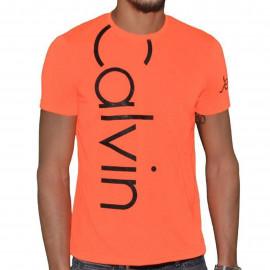 Tee shirt Calvin klein orange CMP13S
