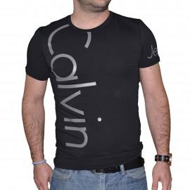 Tee shirt Calvin klein noir et gris CMP13S