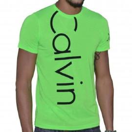 Tee shirt Calvin klein vert CMP13S