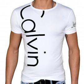 Tee shirt Calvin klein blanc CMP13S