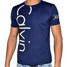Tee shirt Calvin klein bleu marine CMP13S