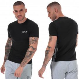 Tee shirt Armani à bande noir 3HPT07