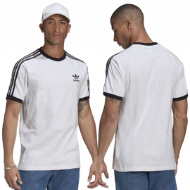 Tee shirt ADIDAS blanc GN3494 tri-bande