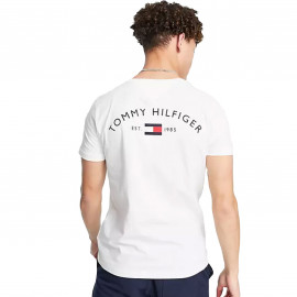 Tee shirt Tommy homme blanc 17681