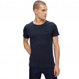 Tee shirt blend BLEU 20709766