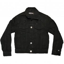 Veste en jean noir enfant GB377