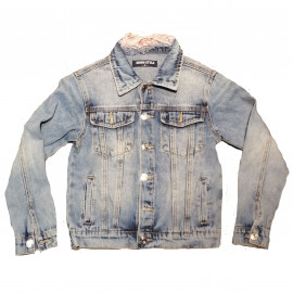 Veste en jean bleu clair enfant GB385
