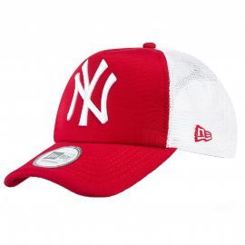 casquette homme Trucker rouge et blanc NEW ERA