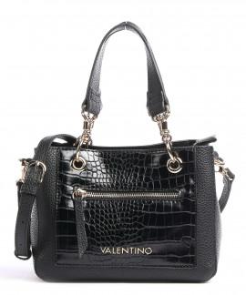 Sac femme valentino VBS5AC03 noir croco verni