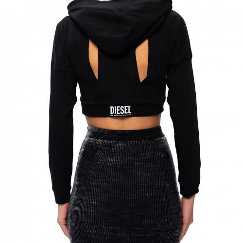 Sweat femme Diesel noir A00921
