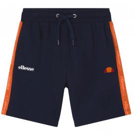 short ellesse junior Canneli bleu et orange