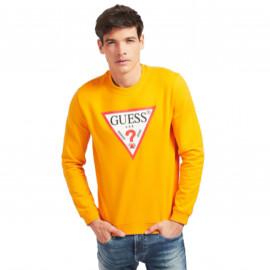 Sweat GUESS homme M0BQ37K7ON1 orange