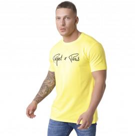 Tee shirt Project X Paris essentiel jaune 1910076