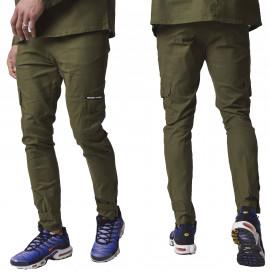 pantalon cargo 2040103 kaki