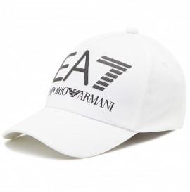 Casquette EA7 EMPORIO ARMANI blanche 275916