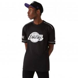 Tee shirt Basket Ball LAkers nori et blanc By New era 12720119