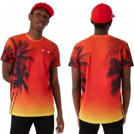 Tee shirt Chicago Bulls palmiers 12720095