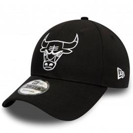 Casquette Chicago bulls noir et blanche 12295586