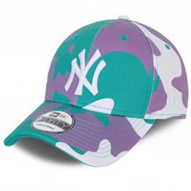 Casquette Camouflage vert blanc violet 60137715
