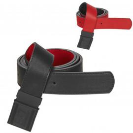 Ceinture Armani reversible rouge et noir 245376