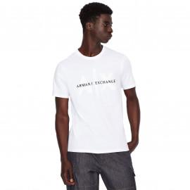 Tee shirt Armani AX Exchange blanc 6KZTBQ