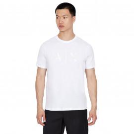 Tee shirt Armani Exchange blanc 6KZTBV ZJV5Z