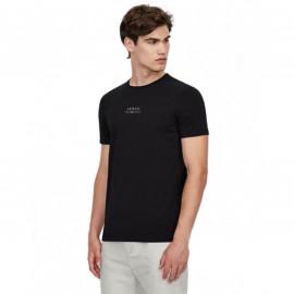 Tee shirt Armani EXchange noir 6KZTAB ZJ5ZZ