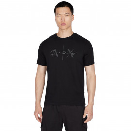 Tee shirt Armani Exchange noir 6KZTBV ZJV5Z