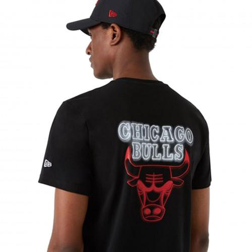 Tee shirt Chicago Bulls noir 12827212