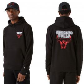 Sweat Chicago bulls noir 12827217