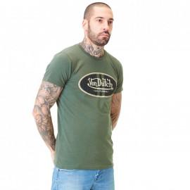 Tee shirt Von Dutch kaki VD/C1/1/TRC/LOG/K
