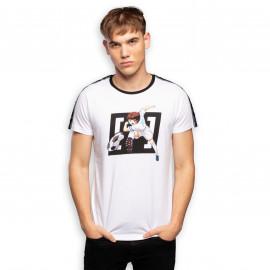 Tee shirt Olivier Atton blanc CL/TSU/1/TSC/TSU1/S