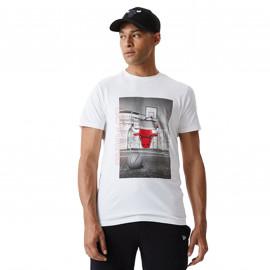 Tee shirt Chicago bulls blanc rétro 12590894 BLANC