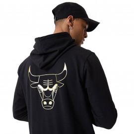 Sweat Chicago Bulls noir et or 12590872