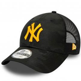 Casquette camouflage noir et jaune yankees 60141614