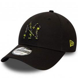 Casquette New era logo multi jaune 60141723