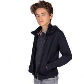 Teddy Smith - Veste Col - Glaster - Bleu - Junior